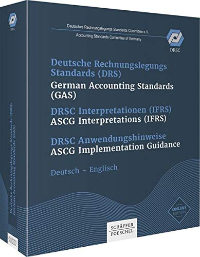 9783820225006: Deutsche Rechnungslegungs Standards (DRS) / German Accounting Standards (GAS) - DRSC Interpretationen (IFRS) / ASCG Interpretations (IFRS) DRSC Anwendungshinweise / ASCG Implementation Guidance, 2 Ordner, Pflichtabnahme