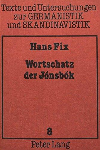Wortschatz Der Jonsbok: Software Von Volker Mueller (Paperback): Professor Hans Fix