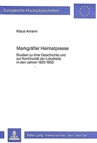 Markgräfler Heimatpresse: Klaus Amann