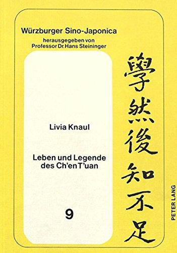 9783820462197: Leben und Legende des Ch'en T'uan (Würzburger Sino-japonica)