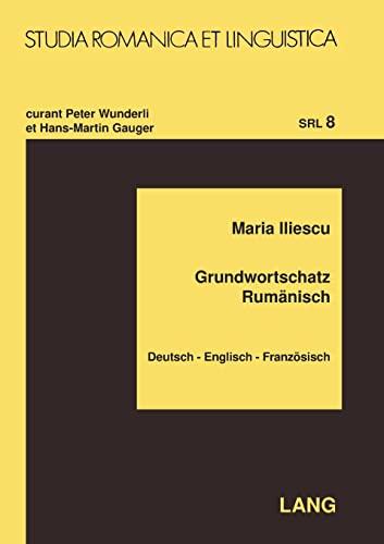 Grundwortschatz Rumänisch: Maria Iliescu