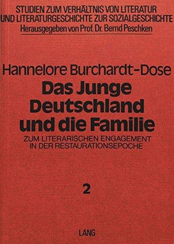 Das Junge Deutschland und die Familie: Zum: Hannelore Burchardt-Dose