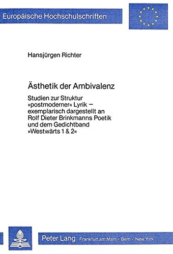 Ästhetik der Ambivalenz: Hansjürgen Richter