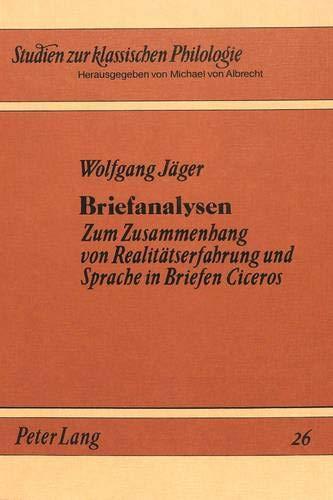 Briefanalysen: Wolfgang Jäger
