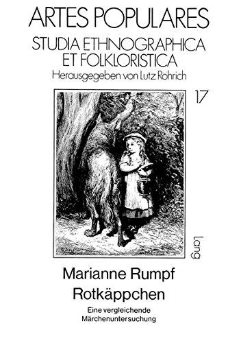 9783820484625: Rotkäppchen: Eine vergleichende Märchenuntersuchung (Artes populares. studia ethnographica et folkloristica)