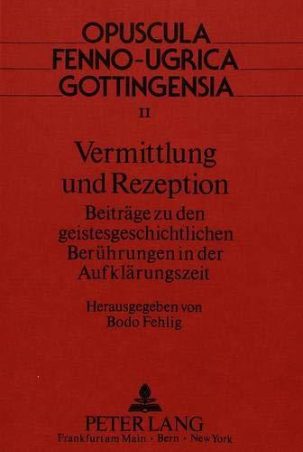 Vermittlung und Rezeption: Bodo Fehlig