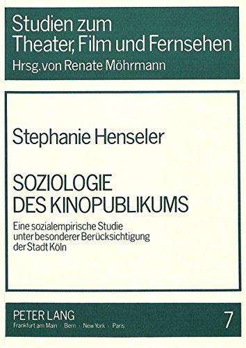 Soziologie des Kinopublikums: Stephanie Henseler
