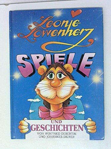 9783821209487: Leonie Löwenherz: Spiele und Geschichten
