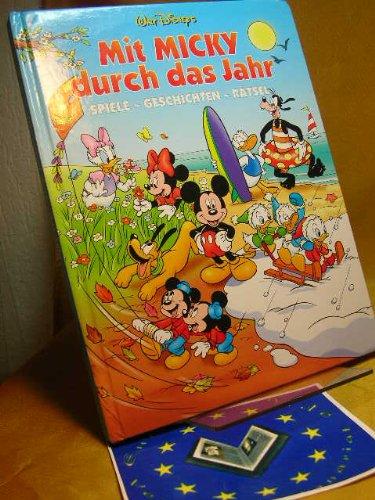 9783821220086: Micky Maus. Mit Micky durch das ganze Jahr. Frühling, Sommer, Herbst und Winter