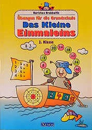9783821222554: Karlchen Krabbelfix, Übungen für die Grundschule, Das kleine Einmaleins, 2. Klasse