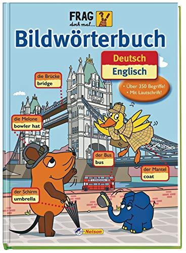 9783821228136: Frag doch mal die Maus Bildwörterbuch Deutsch - Englisch: Englisch lernen leicht gemacht