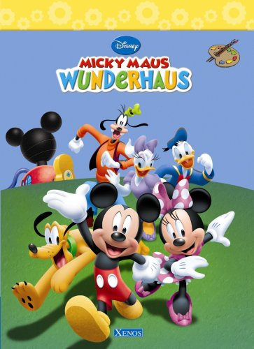 9783821231228: Micky Maus Wunderhaus Malbuch