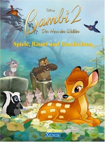 9783821231358: Bambi 2. Spiele, R+��tsel und Geschichten