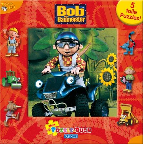 9783821232393: Bob der Baumeister - Mein Puzzle-Buch: Pappbilderbuch mit 5 Puzzles