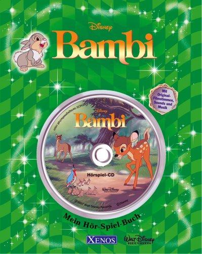 9783821232584: Bambi. Mein-Hör-Spiel-Buch Disney: Lesebuch mit integrierter CD
