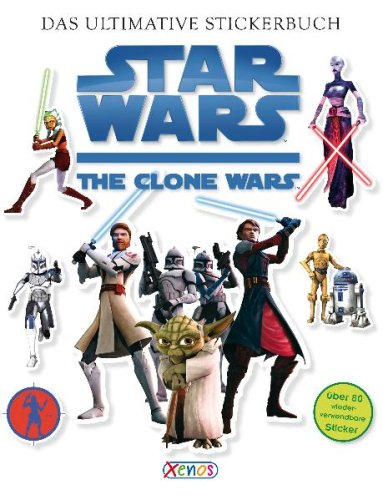 9783821233505: Star Wars The Clone Wars - Das ultimative Stickerbuch