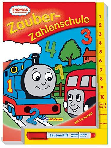 9783821233727: Thomas und seine Freunde, Zauber-Zahlenschule: mit Zauberstift