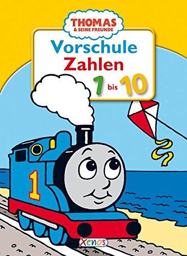 9783821234359: Thomas & seine Freunde - Vorschule Zahlen von 1 bis 10