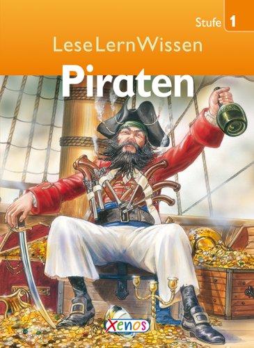 9783821234533: LeseLernWissen - Piraten: Stufe 1 für Erstleser