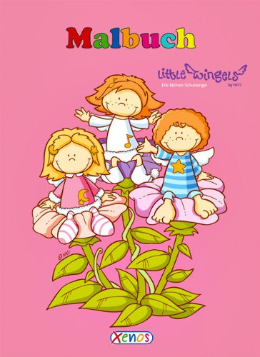 9783821235271: Malbuch - Little Wingels: Die kleinen Schutzengel