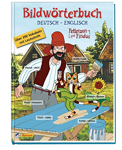 9783821235394: Pettersson und Findus - Bildwörterbuch Deutsch - Englisch
