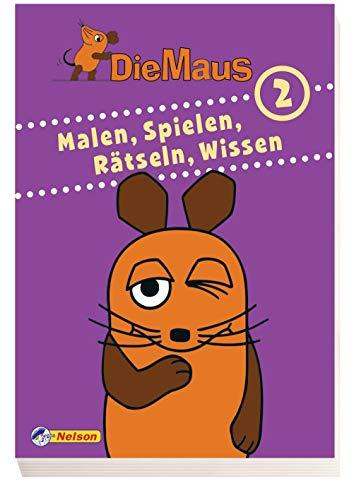 Die Maus - Malen, Spielen, Rätseln, Wissen 2: Beschäftigungsblock - Avalon Hansen