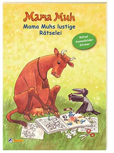 Mama Muh - Mama Muhs lustige Rätselei: Rätsel, Ausmalbilder, Sticker - Claudia Albrecht