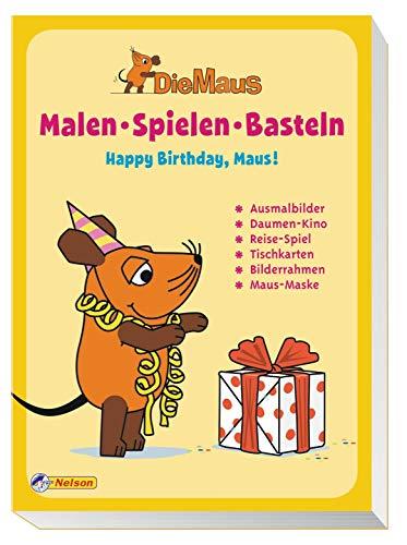 9783821235875 Die Maus Malen Spielen Basteln Happy