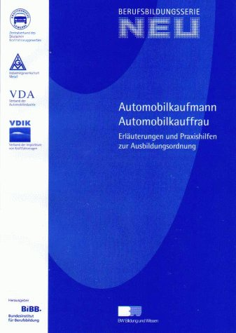 9783821471136: Berufsbildungsserie NEU, Automobilkaufmann / Automobilkauffrau