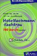 9783821482187: Berufs-Chancen-Check. Hotelfachmann/-fachfrau.