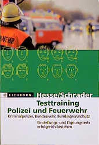 9783821814278: Testraining Polizie Und Feuerwehr