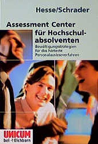 9783821814995: Assessment Center für Hochschulabsolventen.