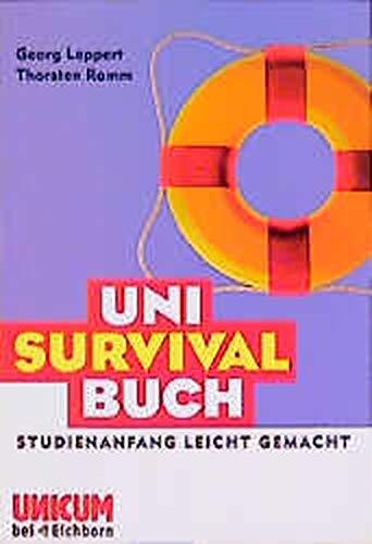 9783821815244: Uni- Survival- Buch. Studienanfang leicht gemacht.