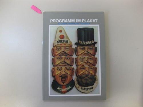 9783821817187: Programm im Plakat. 40 Jahre Hessischer Rundfunk