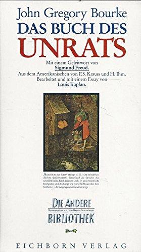 9783821840918: Das Buch des Unrats