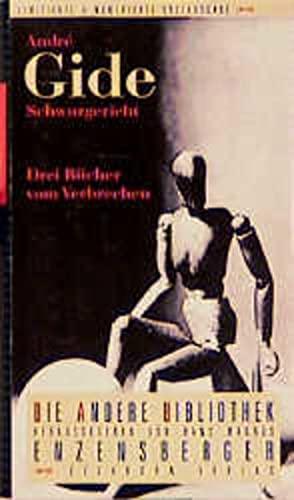 9783821841502: Schwurgericht: Drei Bücher vom Verbrechen