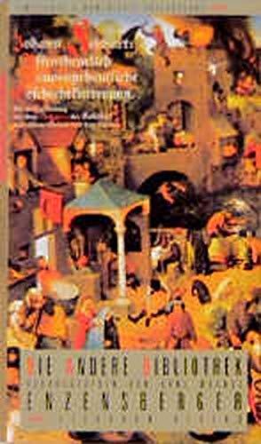 Affentheuerlich Naupengeheurliche Geschichtsklitterung. Die Andere Bibliothek (9783821841519) by Johann Fischart; Francois Rabelais; Ute. Nyssen