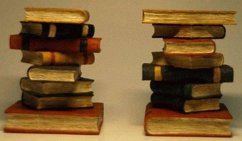 9783821851068: Bücherstapel, 2 Buchstützen