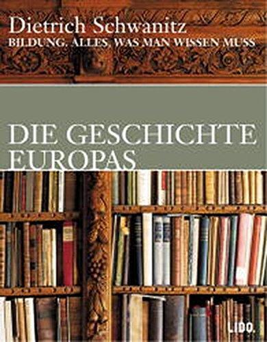 9783821851969: Bildung. Die Geschichte Europas. 2 Cassetten. Alles, was man wissen muss.