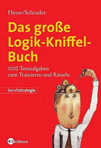 9783821858678: Das große Logik-Kniffel-Buch