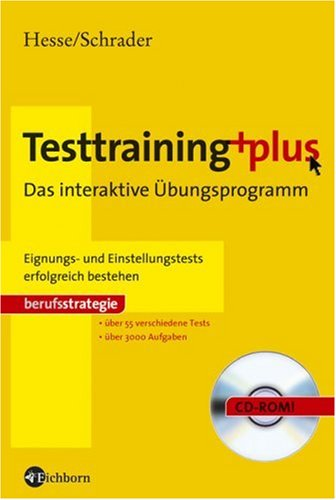 9783821859095: Testtraining plus