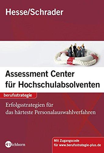 9783821859675: Assessment Center für Hochschulabsolventen: Vorbereitung, Training, Erfolgsstrategien