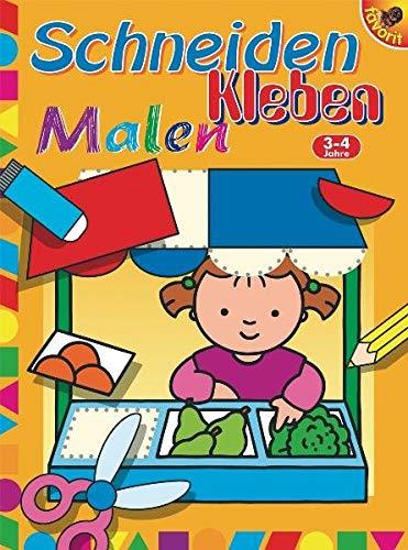 9783822714843: Schneiden - Kleben - Malen