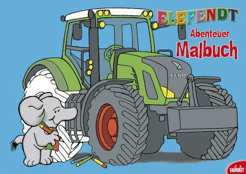 9783822716199: Elefendt: Abenteuer Malbuch