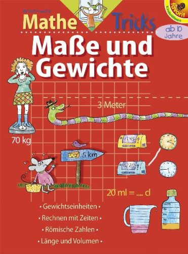 9783822743867: Winfrieds Mathe-Tricks: Ma�e und Gewichte