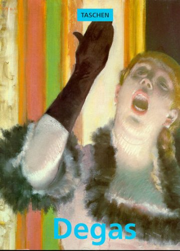 9783822805312: Edgar Degas, 1834-1917