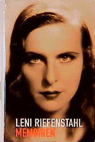 9783822808344: Memoiren. Leni Riefenstahl