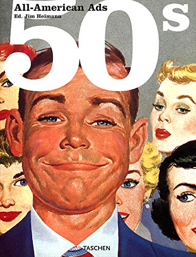 9783822811580: All-American Ads of the 50s