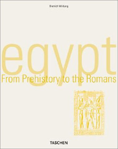 9783822812211: Egypt: From Prehistory to the Romans (Taschen's World Architecture)