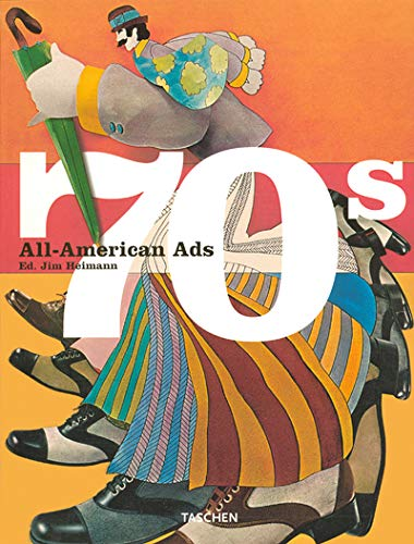 9783822812655: All-American Ads of the 70s